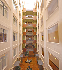 Park Place Condominiums Atrium