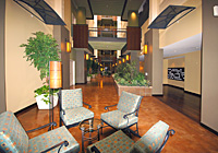 Park Place Condominiums elegant common area