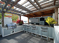 Rooftop Terrace with Kitchen